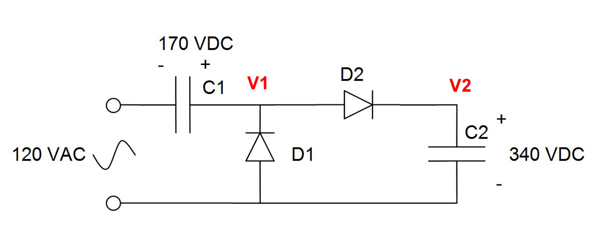 120vac To 20v Dc Wiring Diagram also 220 Volts Power Inverter Using Ne555 And Mosfet additionally 120 Volt 4 Led Light Circuit Diagram Wiring additionally White Led Flood L  Circuit in addition Value Able 40w 120vac Inverter Circuit. on simple 120vac 12v power supply circuit