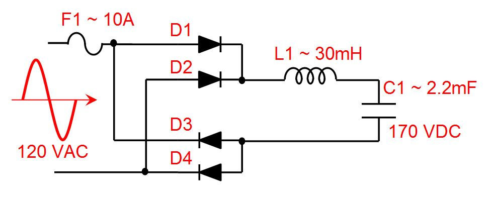 Full Bridge Rectifier and Filters
