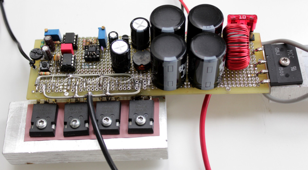 Tesla Coil Solid State Driver Circuit