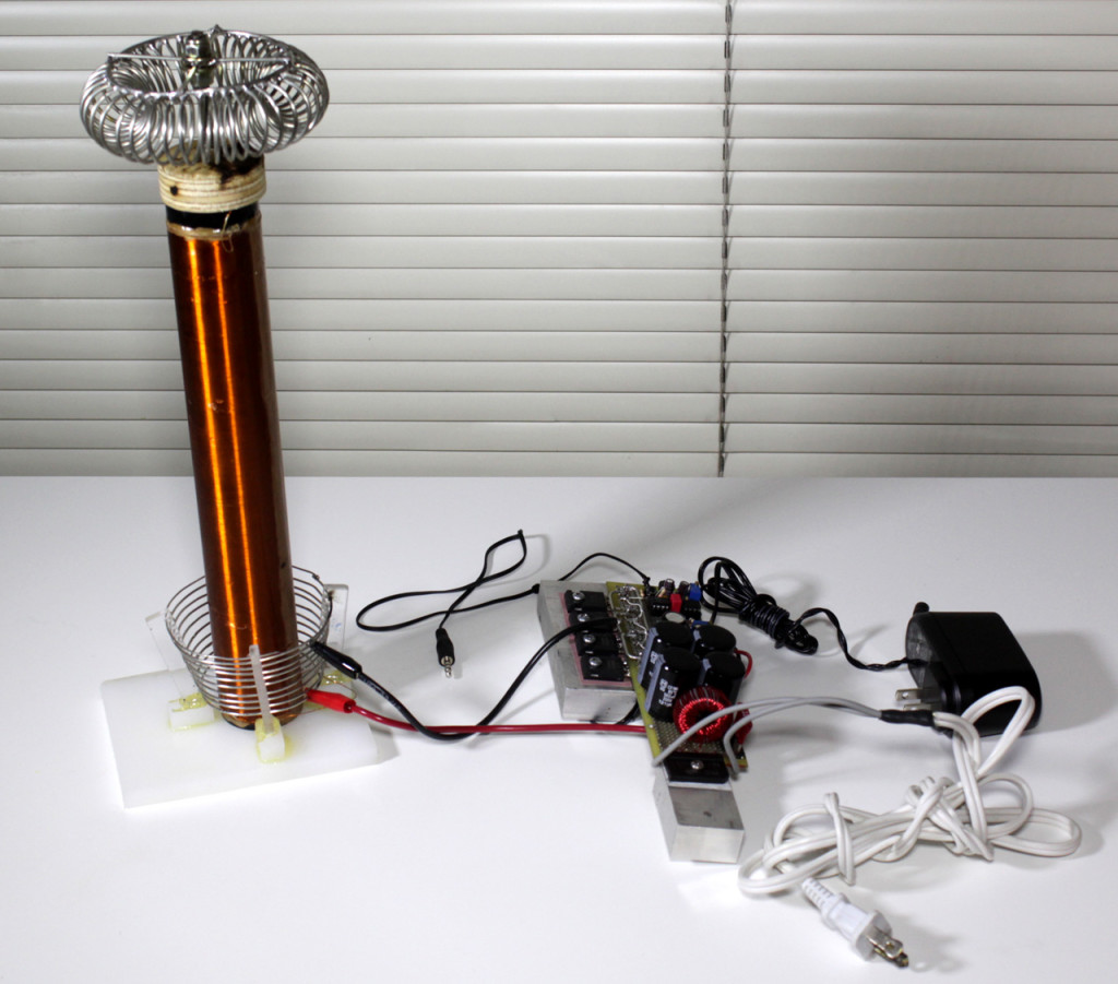 Tesla Coil and Solid State Driver