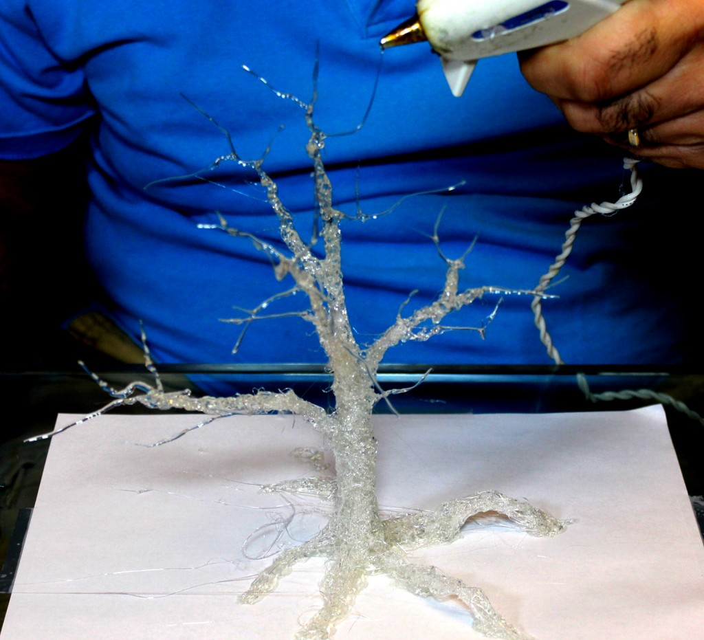 3D Printing Tree with Hot Glue
