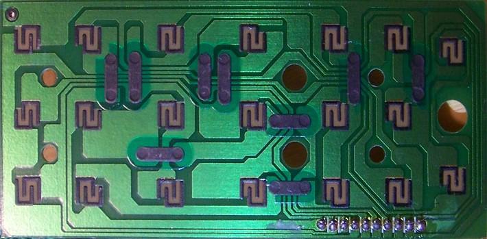 Carbon PCB Traces