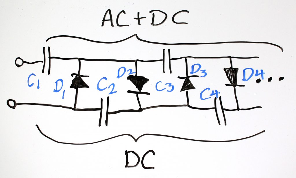AC Voltage Multiplier Circuit
