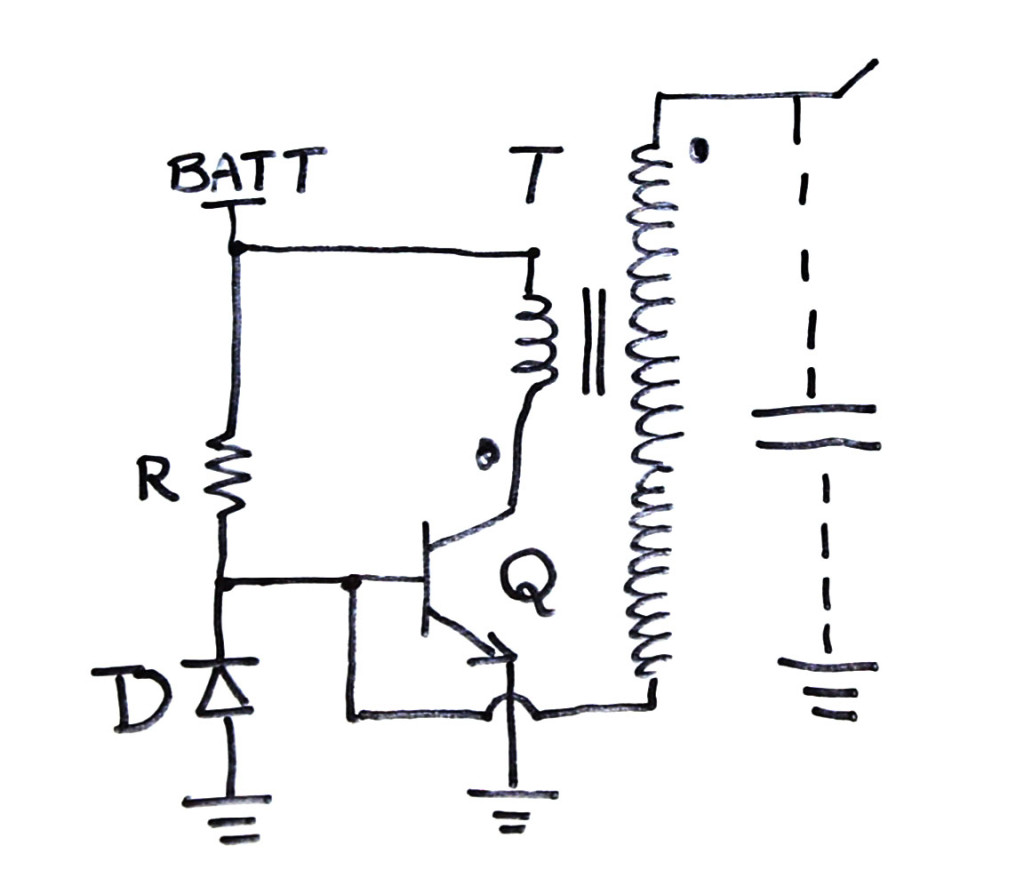 Slayer Exciter Circuit With A Tesla Coil Electroboom Uses Power Transistors Pair Of 5 X Low