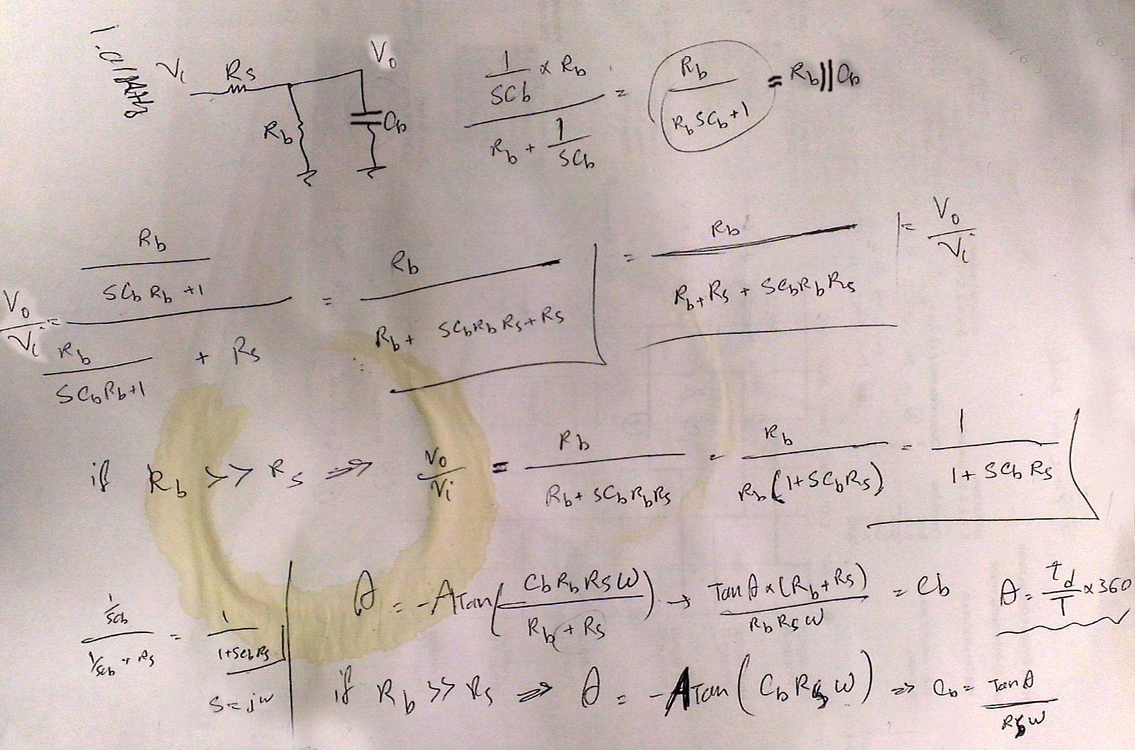 Measuring Human Body Capacitance Or Any Electroboom Electriccircuit Reactance And Impedance Capacitive Calculations To Derive Formulas