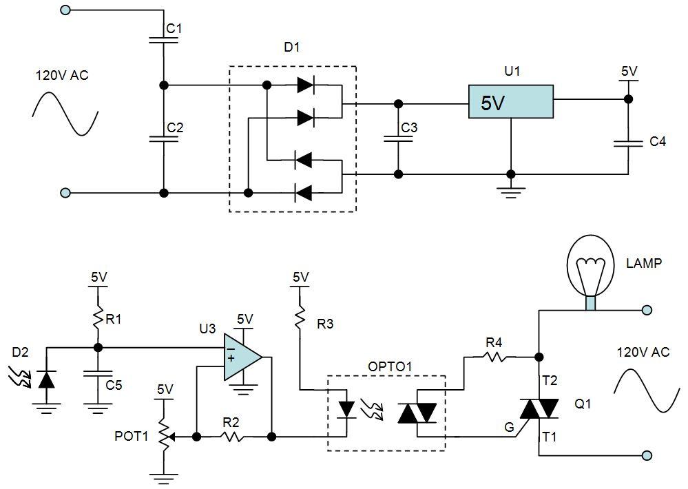 night light circuit electroboom rh electroboom com Automatic Night Light Circuit Night Light Circuit Timer