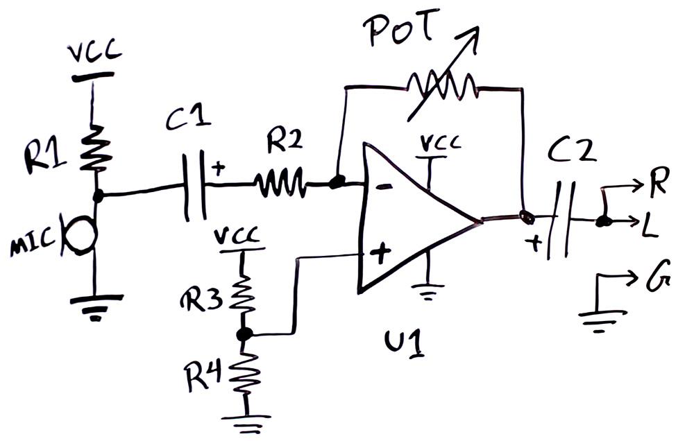 Condenser Microphone Amplifier Circuit | ElectroBoom