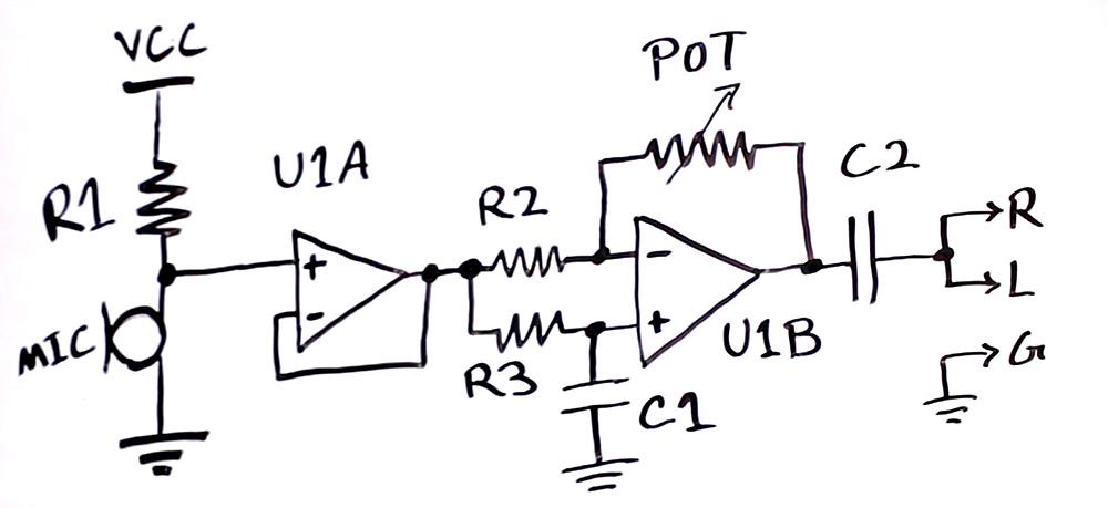 Figure 1: Amplifier with Buffer